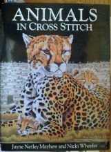 Animals in Cross-Stitch. Mayhew/Wheeler. 128 pages